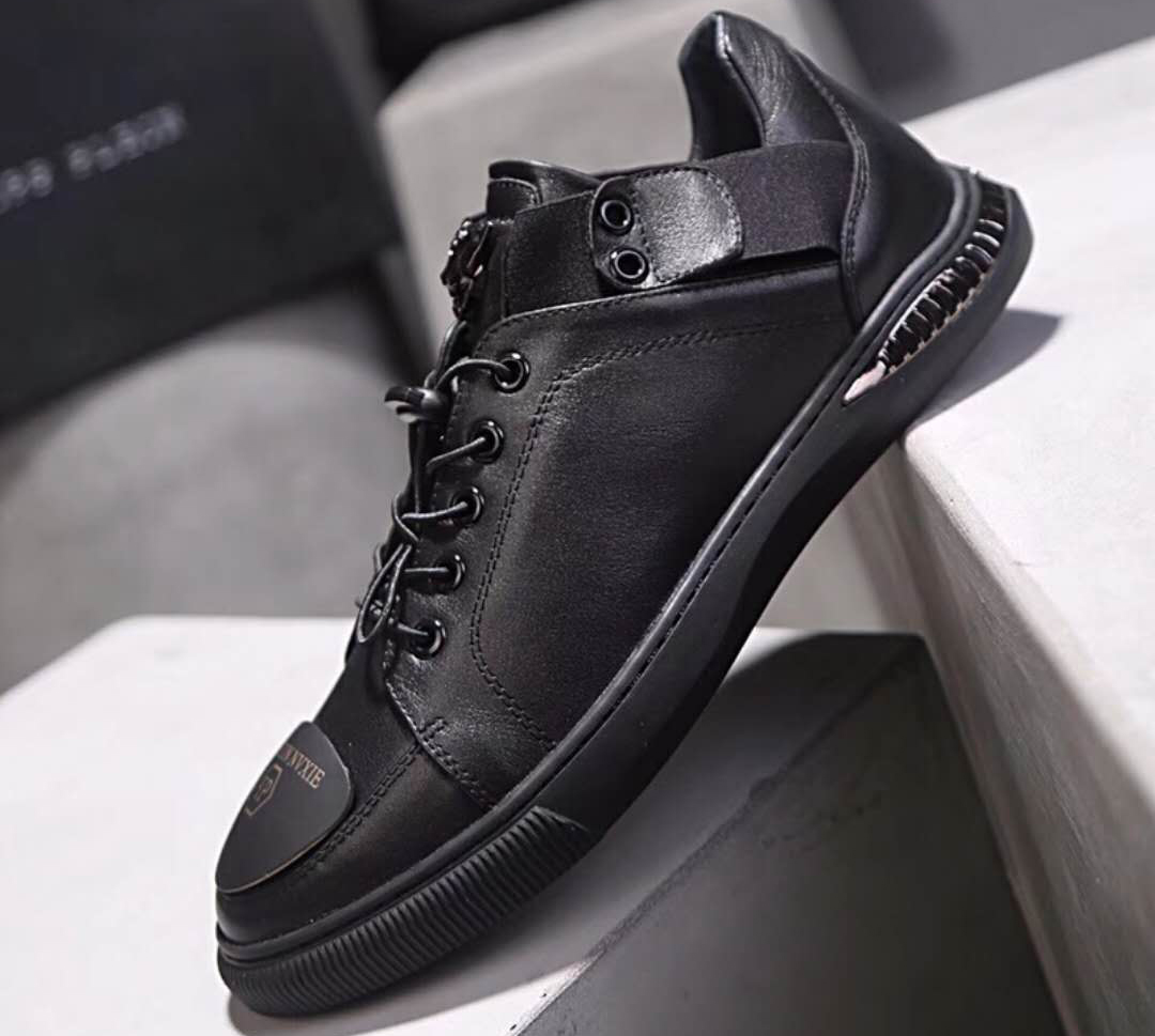 chaussures philippe mode leather qp top