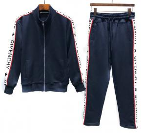 new givenchy  sport sweat suits tracksuits jacket n8203 blue