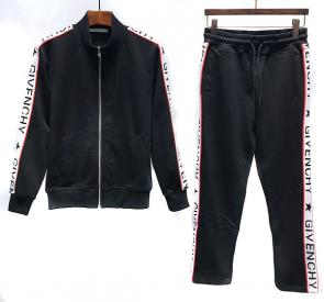 new givenchy  sport sweat suits tracksuits jacket n8203 noir