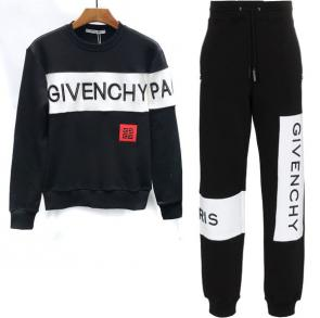 new givenchy  sport sweat suits tracksuits jacket jogging pari black
