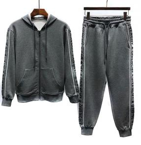 new givenchy  sport sweat suits tracksuits jacket n8204 gray