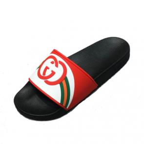 2019 slide sandals gucci new dsigner slipper gg logo red