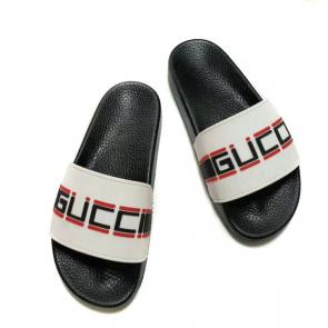 2019 slide sandals gucci new dsigner slipper gucci logo top white