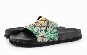 2019 slide sandals gucci new dsigner slipper tiger mode