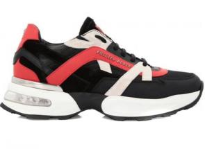 acheter chaud chaussure philipp plein leather plein runner red line