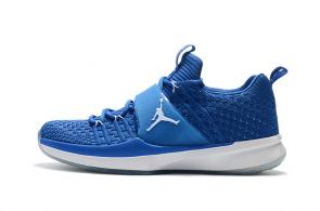 air jordan trainer 2 low sneaker 2 flyknit blue