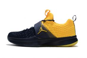 air jordan trainer 2 low sneaker 2 flyknit yellow black