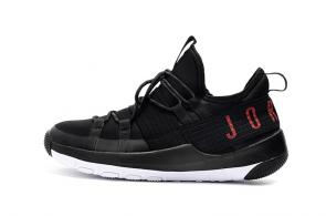 air jordan trainer 2 low sneaker pro black red