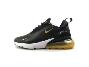 air max 270 smooth leather sport ao8283-001 cuir black