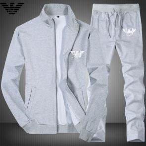armani ensemble de survetement ea7 aj gray