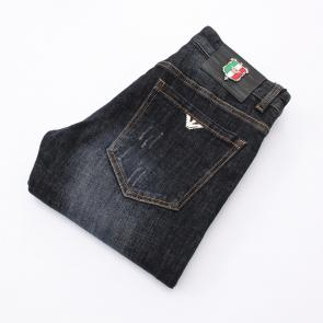 armani jeans hommes regular-fit italy flag