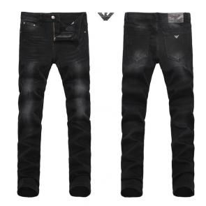 armani jeans hommes regular-fit jeans black