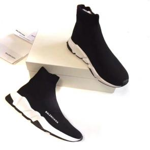 balenciaga women polyamide baskets black white