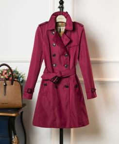 burberry vintage trench 2018 femmes london mid windbreaker rouge