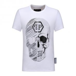 buy philipp plein t-shirt skull qp larg cotton
