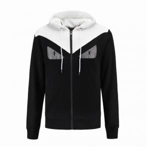 fendi jacket de jogging hoodie eyes  zipper