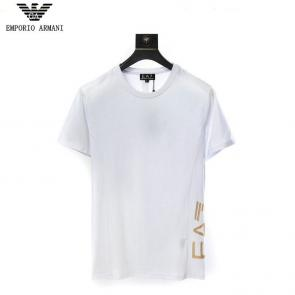 giorgio armani new season t-shirts training e7023 classic