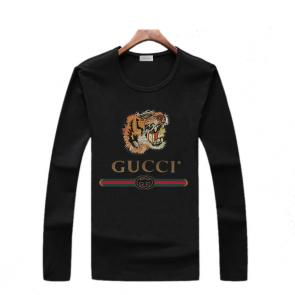 gucci logo limited edition long sleeve t-shirt cs6651 tiger 03945