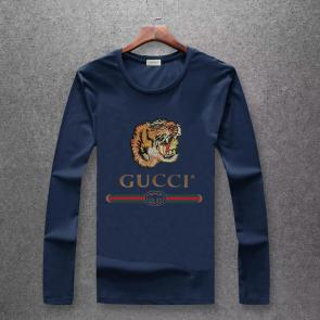 gucci logo limited edition long sleeve t-shirt cs6651 tiger j492443