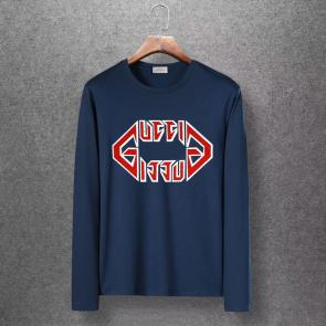 gucci logo limited edition long sleeve t-shirt ggfm0436