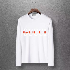 gucci logo limited edition long sleeve t-shirt ggfm0440