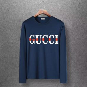 gucci logo limited edition long sleeve t-shirt ggfm0443