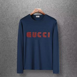 gucci logo limited edition long sleeve t-shirt ggfm0448
