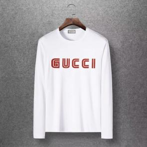 gucci logo limited edition long sleeve t-shirt ggfm0451