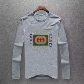 gucci logo limited edition long sleeve t-shirt ggt94538