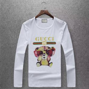 gucci logo limited edition long sleeve t-shirt ggt94543