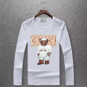 gucci logo limited edition long sleeve t-shirt gt5649 bear