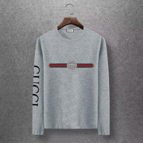 gucci logo limited edition long sleeve t-shirt gt5742 shoulder logo 739235