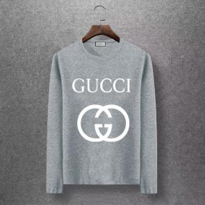 gucci logo limited edition long sleeve t-shirt classic gg 992034