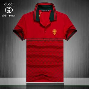 gucci hommes unisex gucci polo t-shirt g9017 red