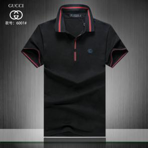 gucci hommes unisex gucci polo t-shirt g6001 black