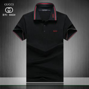 gucci hommes unisex gucci polo t-shirt g8060 black