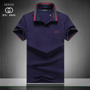 gucci hommes unisex gucci polo t-shirt g8060 blue