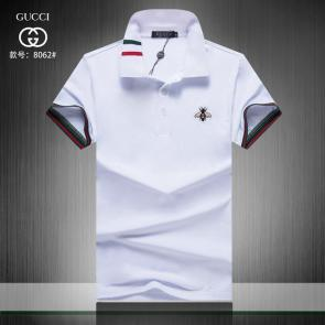 gucci hommes unisex gucci polo t-shirt g8062 uomo bee