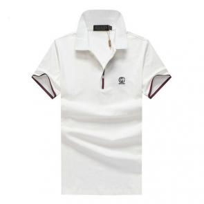 gucci hommes unisex gucci polo t-shirt gg button