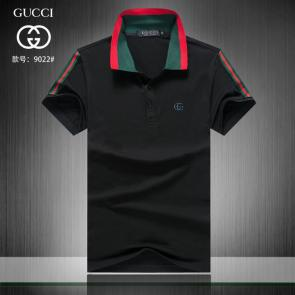 gucci hommes unisex gucci polo t-shirt gg left black