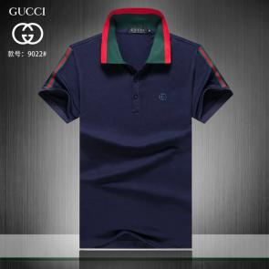 gucci hommes unisex gucci polo t-shirt gg left blue