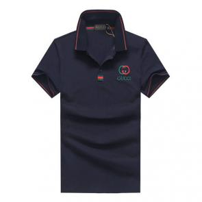gucci hommes unisex gucci polo t-shirt gg mode blue