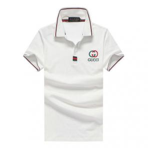 gucci hommes unisex gucci polo t-shirt gg mode white
