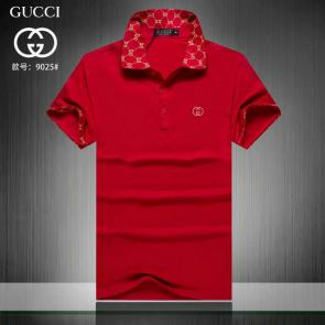 gucci hommes unisex gucci polo t-shirt grid top fire