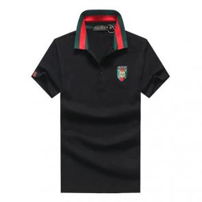 gucci hommes unisex gucci polo t-shirt tiger cotton