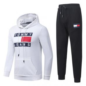 jogging tommy hilfiger femme homme hoodie flag mode white black