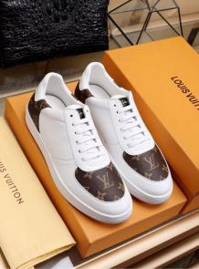 louis vuitton chaussures printemps-ete 2019 monogram white
