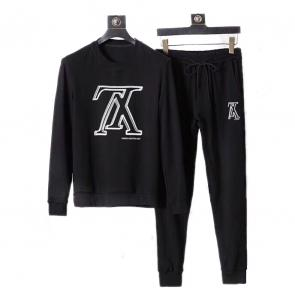 louis vuitton sweat suits new tracksuit for men tracksuits lv black