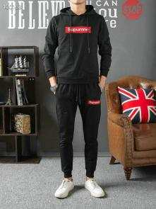 louis vuitton sweat suits new tracksuit for men sweatshirt supreme black 100163