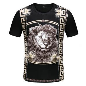 new men shirts tee shirt manches courtes homme lion